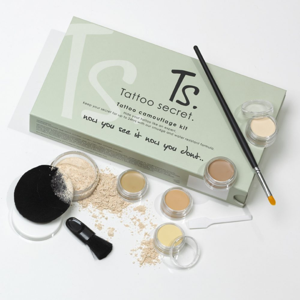 Tattoo Secret Camouflage Box Kit