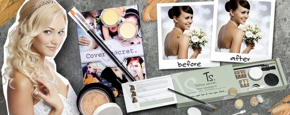 Tattoo Concealer for Weddings